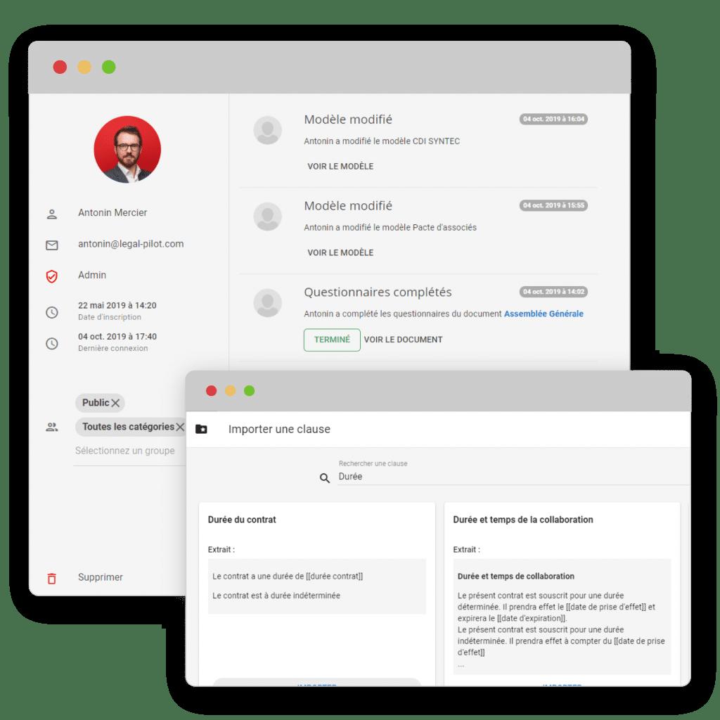 catalogue en ligne pour votre cabinet pour simplifier le travail juridique de vos clients legal pilot vous permettra d'automatiser rapidement des documents juridiques ou audit