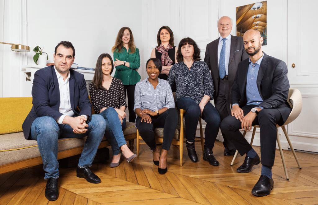 Equipe composant le cabinet Lincoln Avocats conseil qui soutient les restaurateurs dans la crise de la covid-19