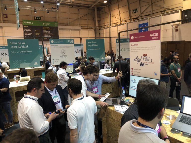 Participation de Legal Pilot au Web Summit 2019